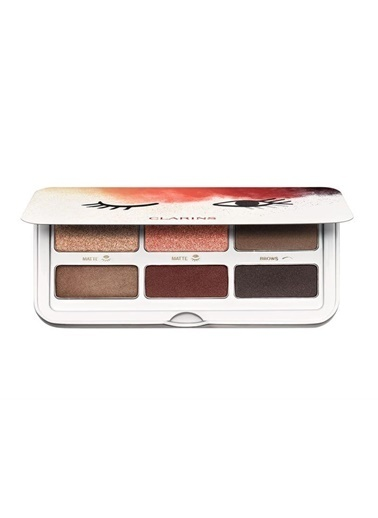 Clarins Clarins Ready In A Flash Palette 7 x 6 ml Renkli